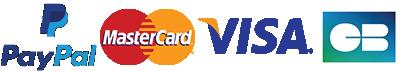 MasterCard Visa CB
