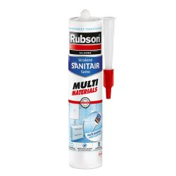 Rubson Sanitaire Multi Matériaux Mastic Bain et Cuisine 280ml Transparent