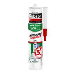Rubson Mastic Peintre Intérieur Extérieur Séchage 5 minutes 280ml Blanc
