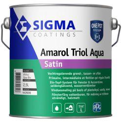 Sigma Amarol Triol Aqua Satin Teintable