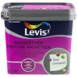 Levis Peinture Magnétique 0.5L - Gris clair