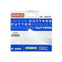 Romus Lames cutter 9 mm - W8