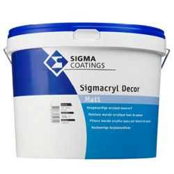 Product Sigma Sigmacryl Decor Matt blanc