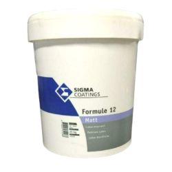 Sigma Formule 12 blanc 20KG,13L