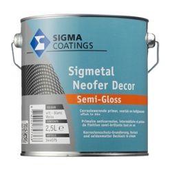 Sigmetal Neofer Decor Semi-Gloss teintable