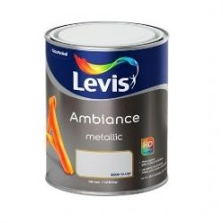 Levis Ambiance Metallic peinture murale ARGENT 1L
