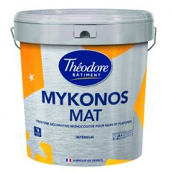 Théodore Mykonos Mat Peinture Plafonds 15l