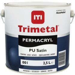 Trimetal Permacryl Pu Satin blanc